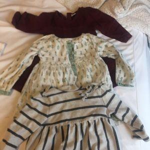 3 fall dresses